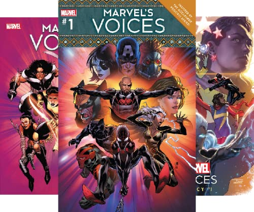 Marvel's Voices (2020-2021) (5 Book Series)