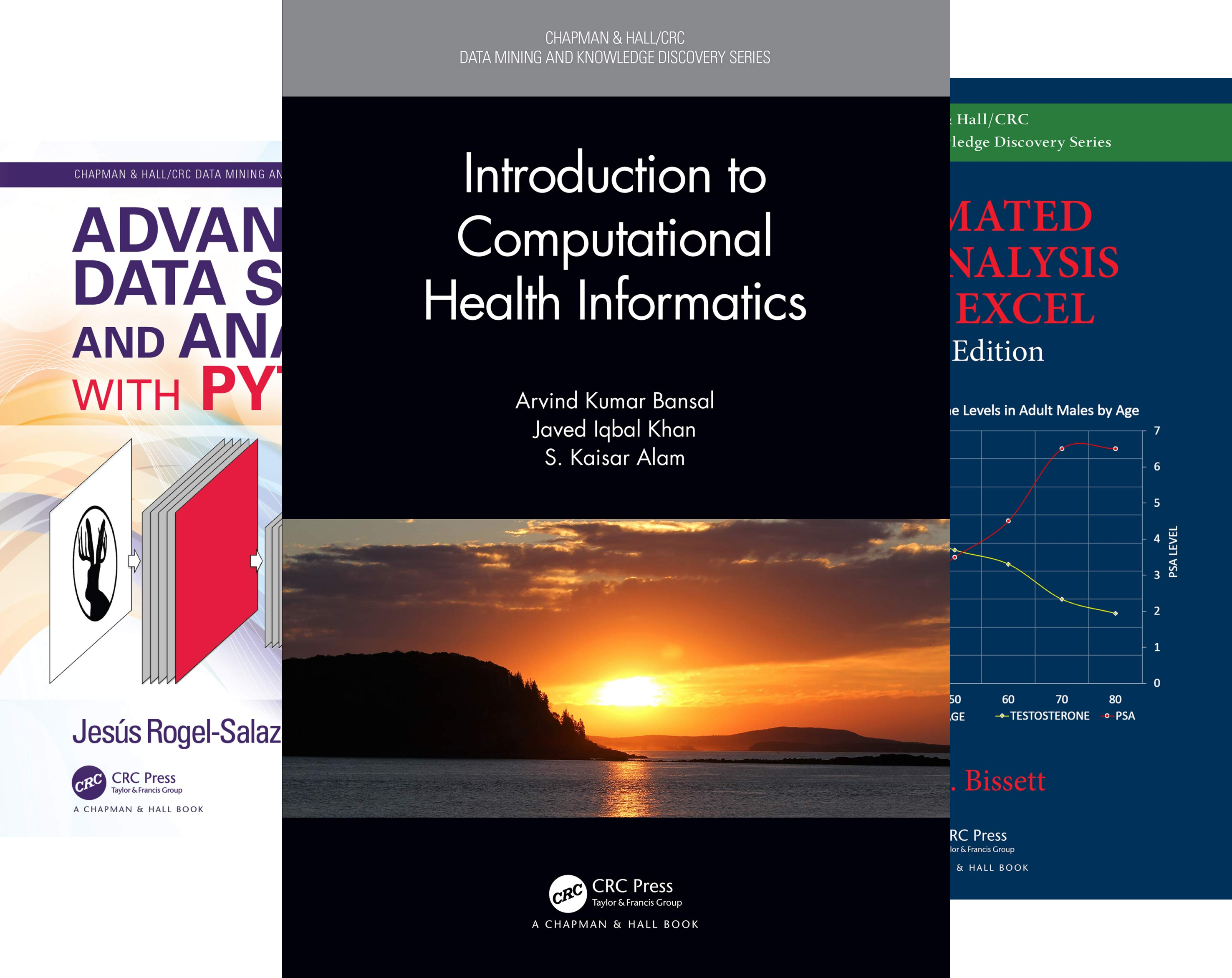 Chapman & Hall/CRC Data Mining and Knowledge Discovery (51-53) (3 Book Series)