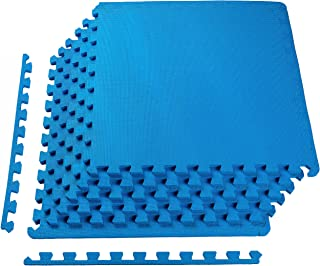 BalanceFrom Puzzle Exercise Mat with EVA Foam Interlocking Tiles for Exercise, MMA,..