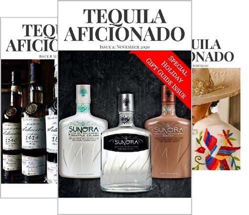 Tequila Aficionado Magazine (14 Book Series)