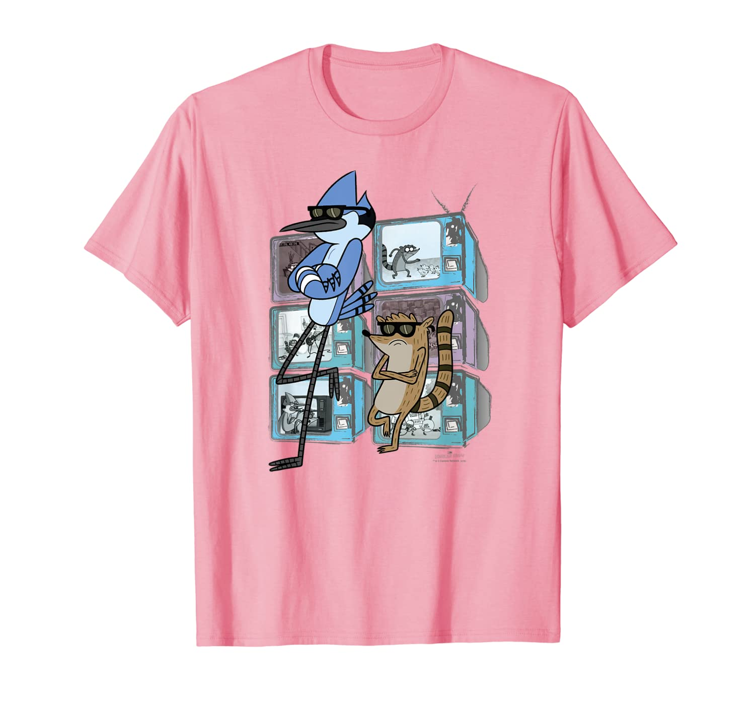Regular Show Mordecai and Rigby TV Too Cool T-Shirt-TH