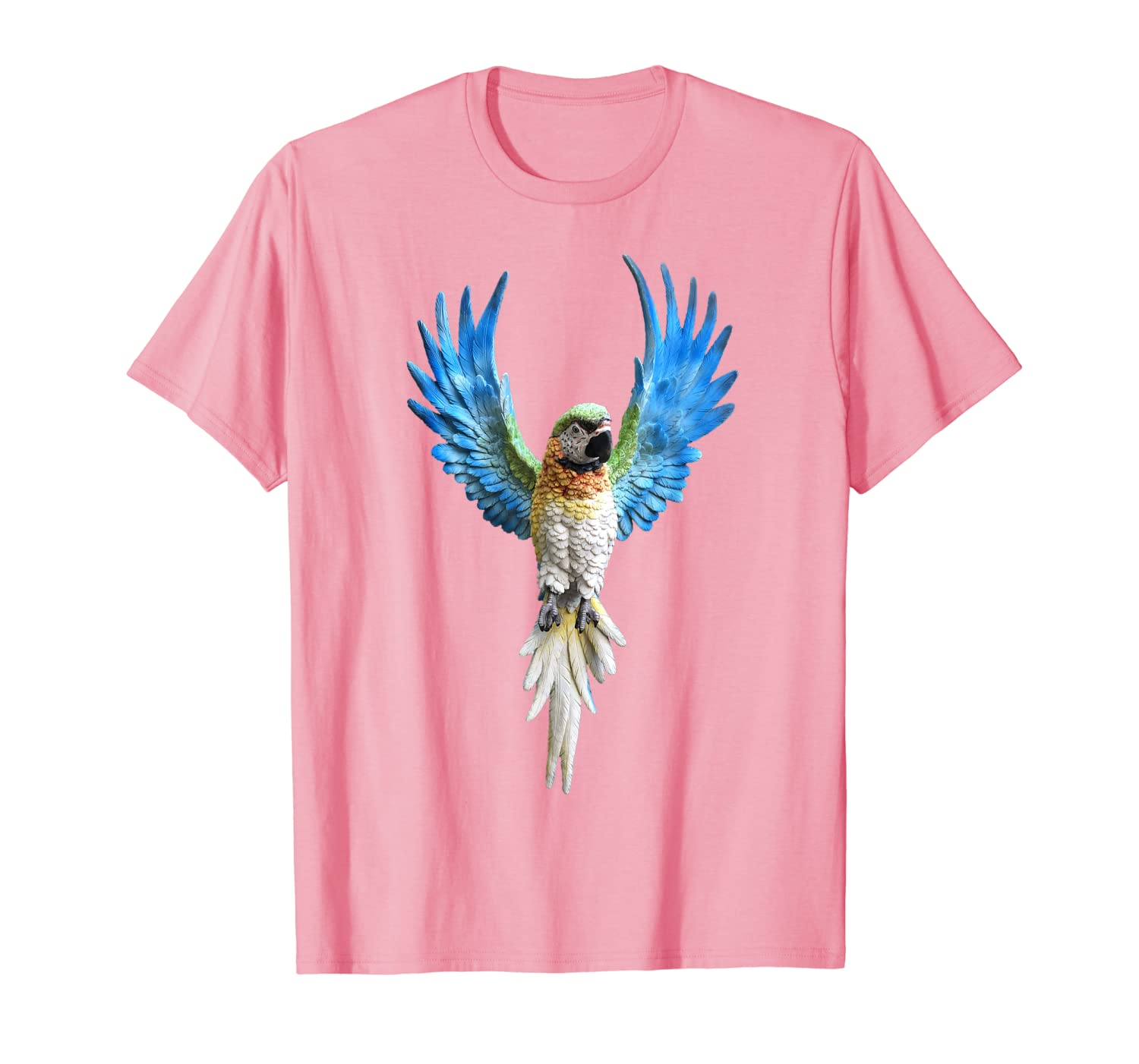 Macaw Shirt For Men Women Kids Blue Parrot TShirt Gift-ANZ