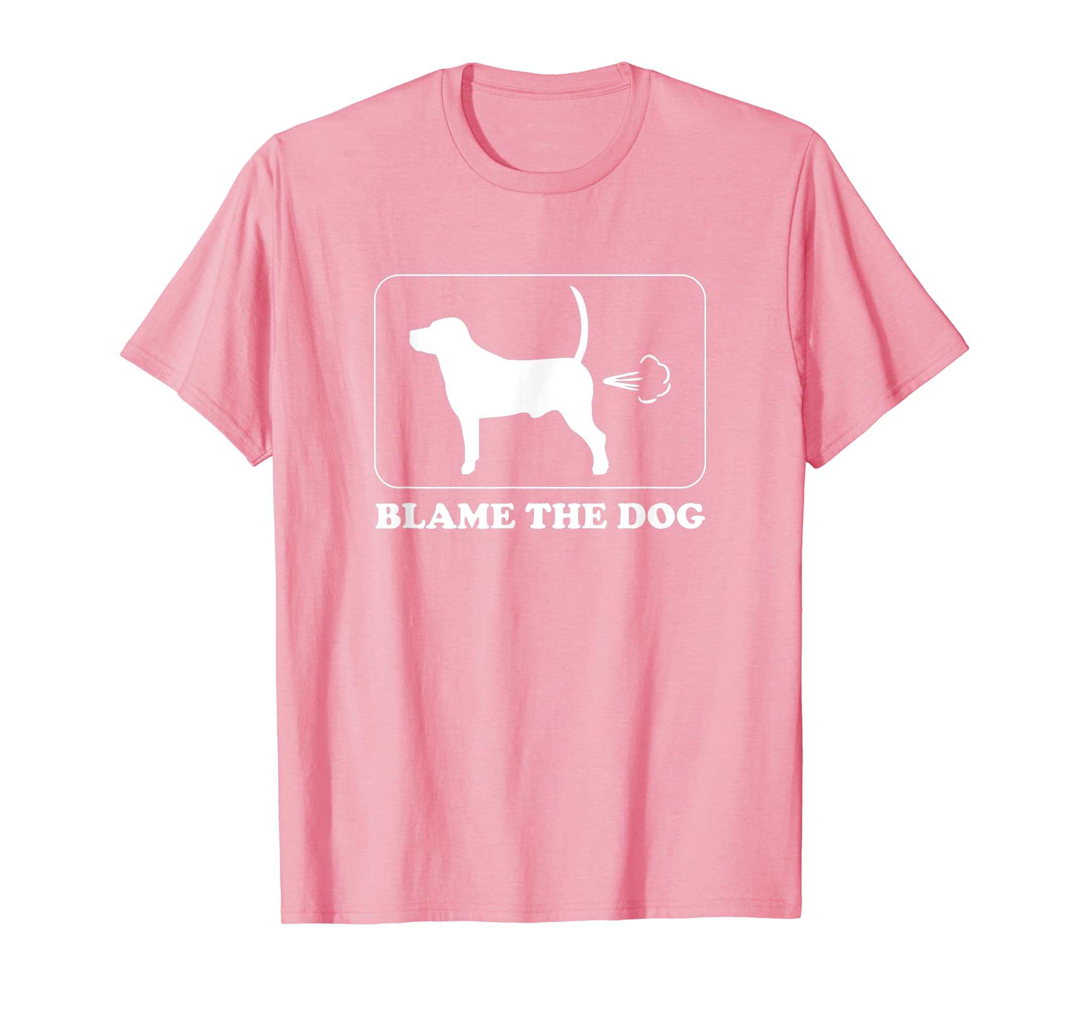 af33f9d610 Amazon.com: Blame the Dog - Funny Dog Fart - Dog Owner T-Shirt: Clothing