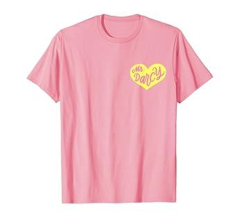 e6011a75bf Amazon.com  Jane Austen Collection Mr Darcy Love Heart Pocket T ...