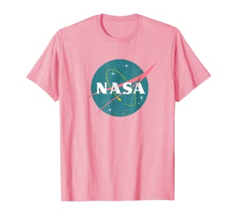 dc967e9e Image Unavailable. Image not available for. Color: Vintage Girls Nasa T- Shirt ...