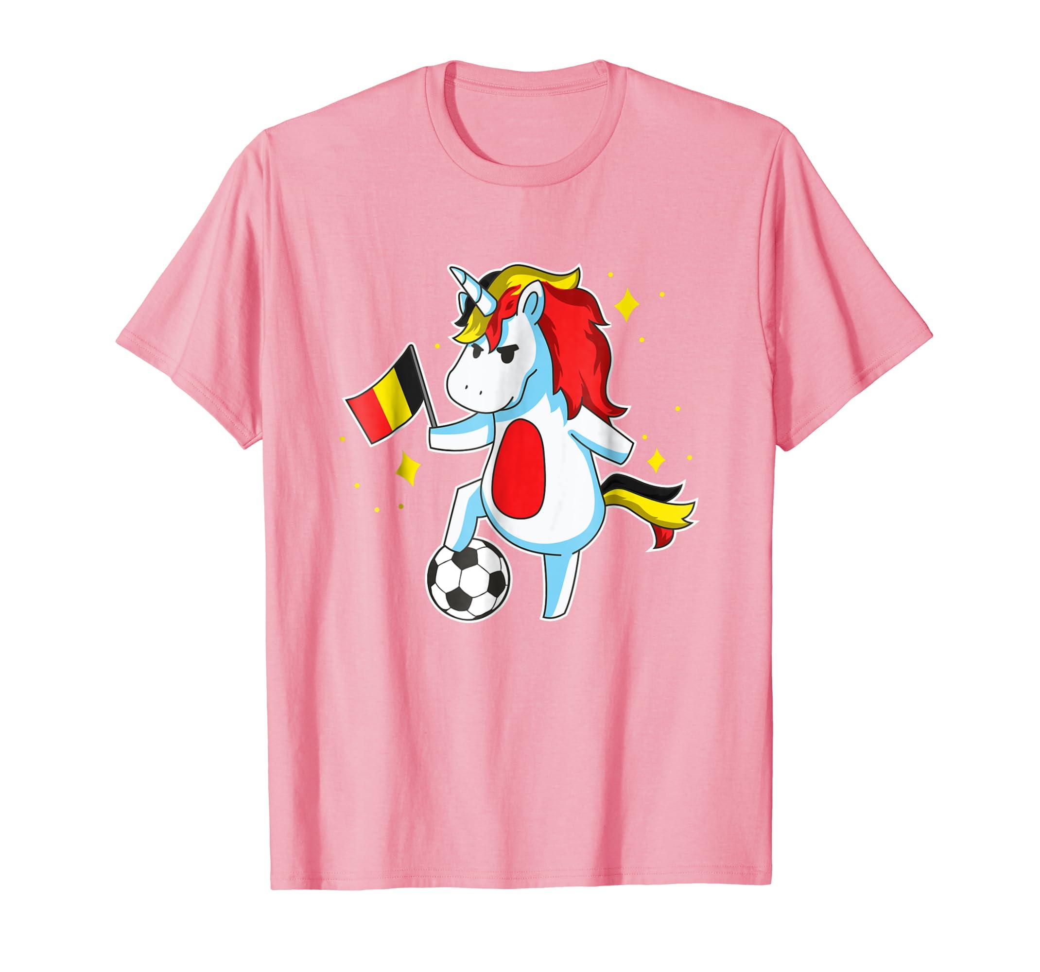 513224c1a Amazon.com  Soccer Unicorn Belgium Jersey Shirt Belgian Football Gift   Clothing