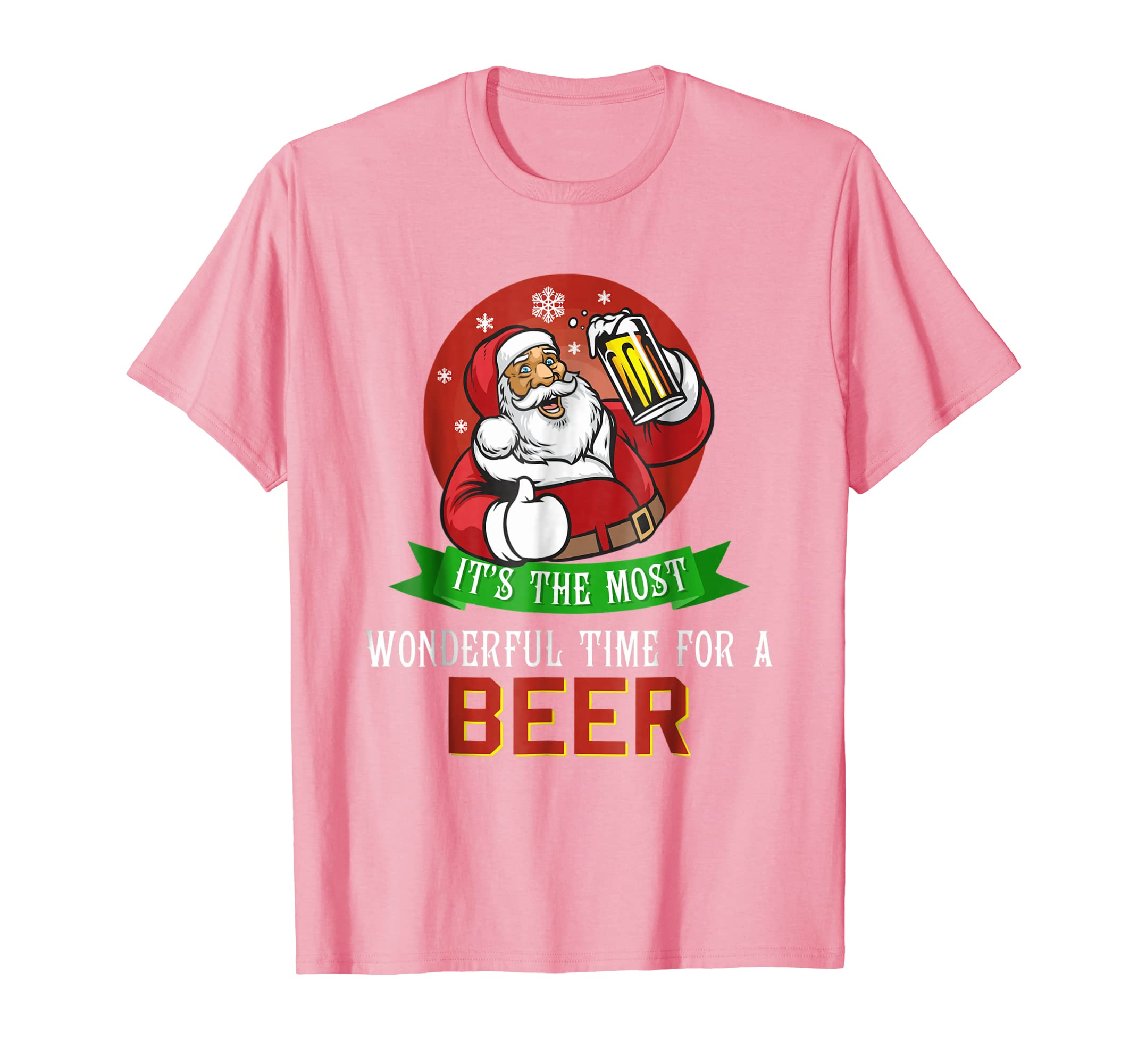 d0ee800c It Is The Most Wonderful Time For A Beer Christmas T Shirt-azvn ...