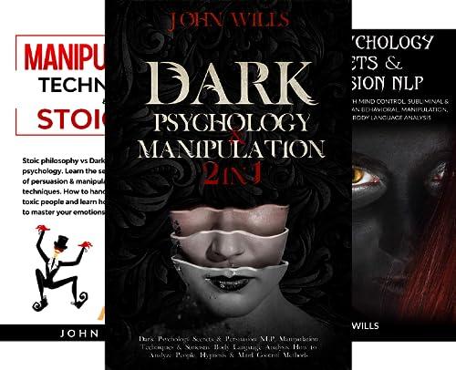 DARK PSYCHOLOGY AND MANIPULATION (3 Book Series)