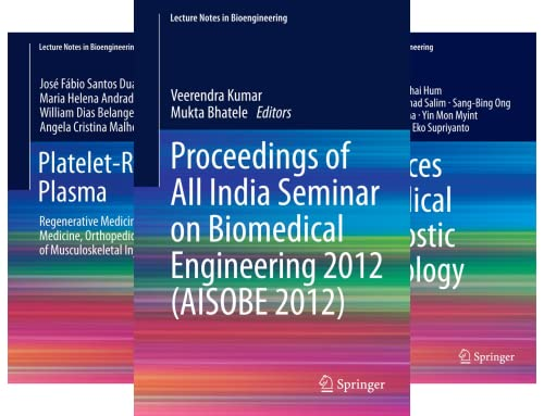 Lecture Notes in Bioengineering (24 Book Series)