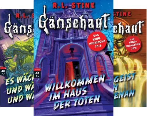 Die Gänsehaut-Reihe (Reihe in 6 Bänden)