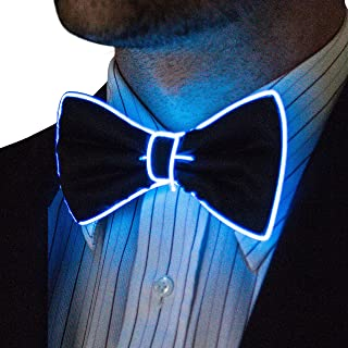 Light Up Bow Tie by Neon Nightlife | Men's Glow in the Dark LED Tie