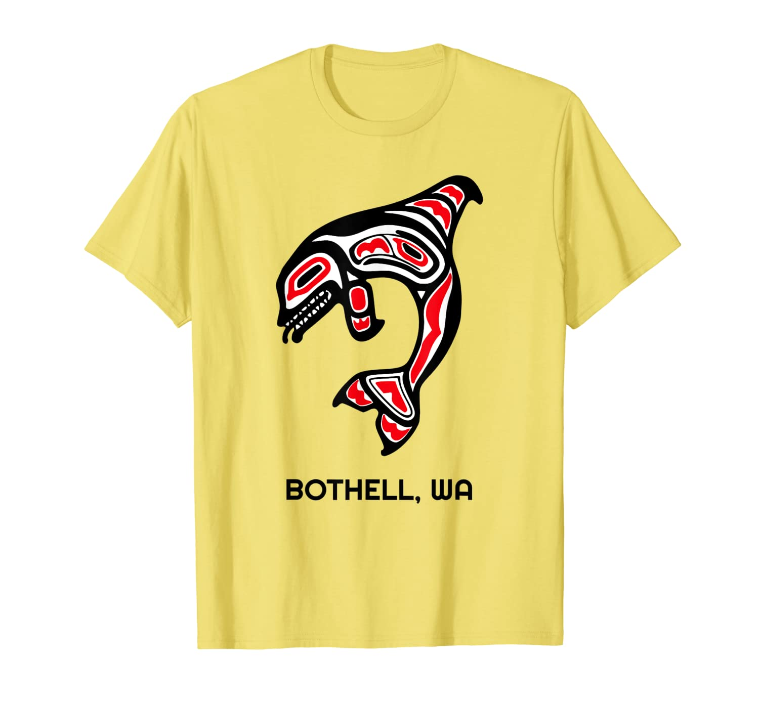 Bothell, Washington Native American Orca Killer Whales Gift T-Shirt