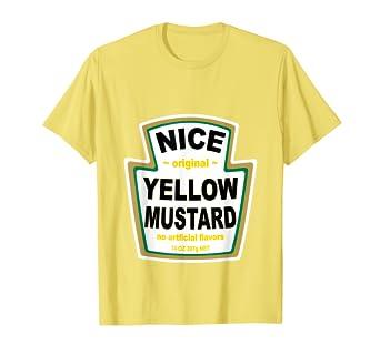 Amazon.com: Mostaza disfraz playera a juego Ketchup mayonesa ...