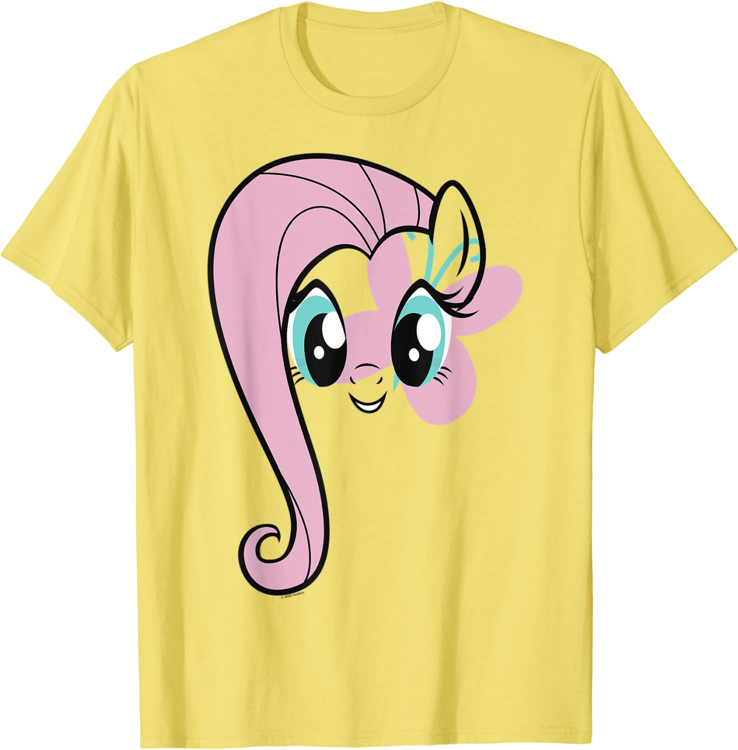 My Little Pony: Friendship Gifts Is Magic Soldering Big Face T-Shirt Fluttershy