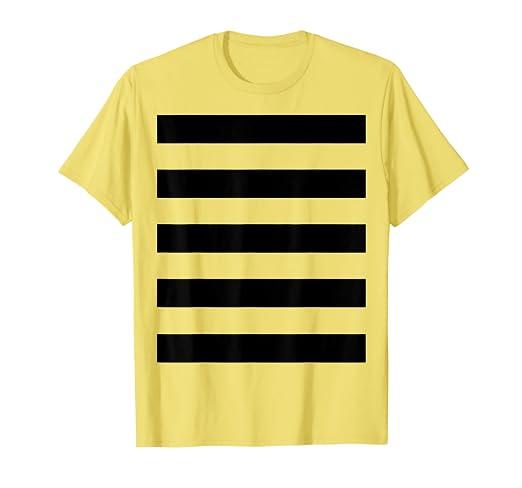 2fee21531 Amazon.com: Bee Costume Shirt - Cute Halloween Costume Honeybee Honey:  Clothing