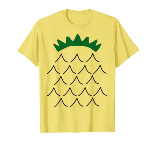 348bda9a9 Image Unavailable. Image not available for. Color: Pineapple Costume Shirt  - Cute Halloween Costume Fruit Tee