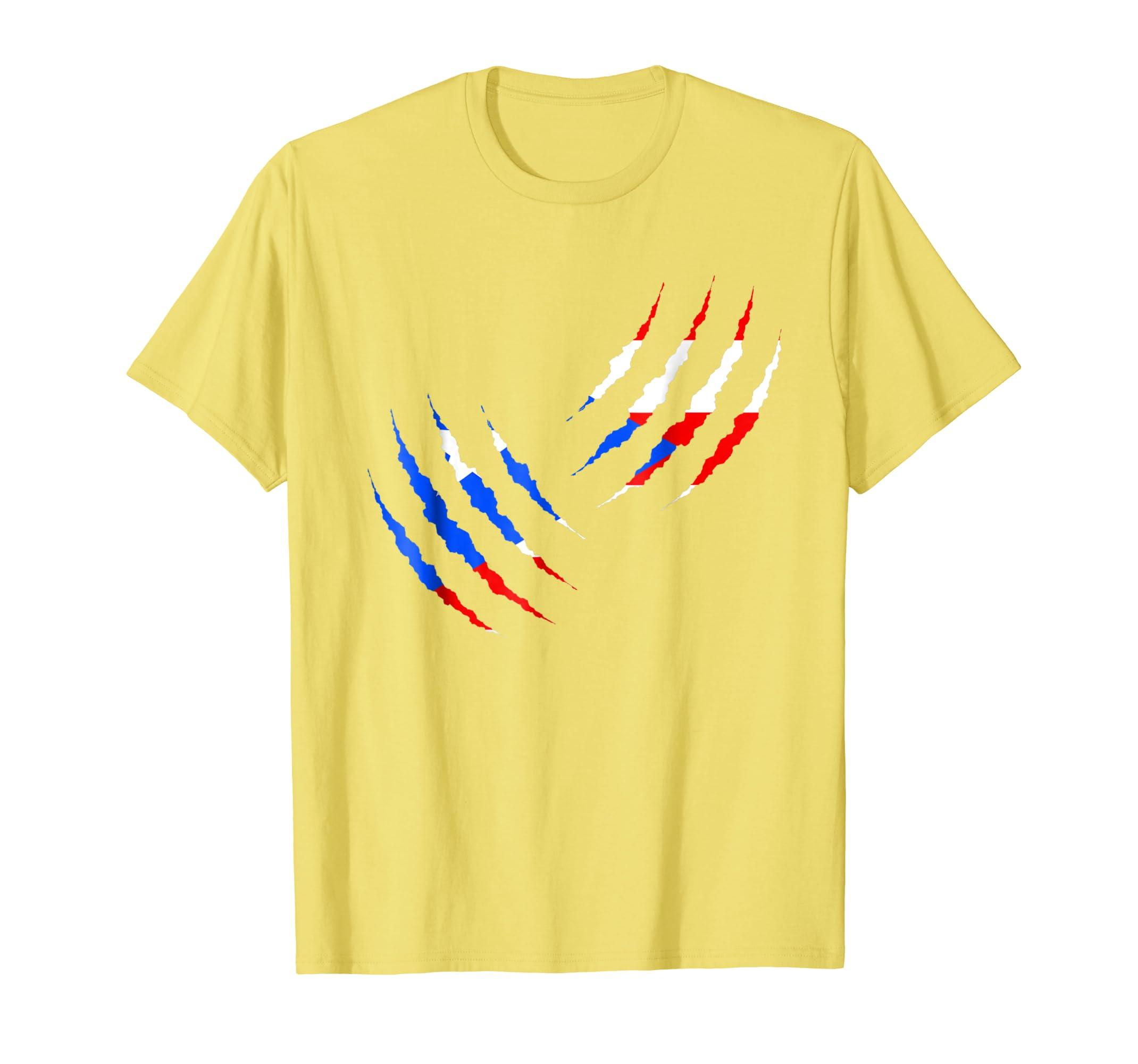 Amazon.com: Puerto Rico Claw Scratch tshirt Puerto Rican Camiseta Unisex: Clothing