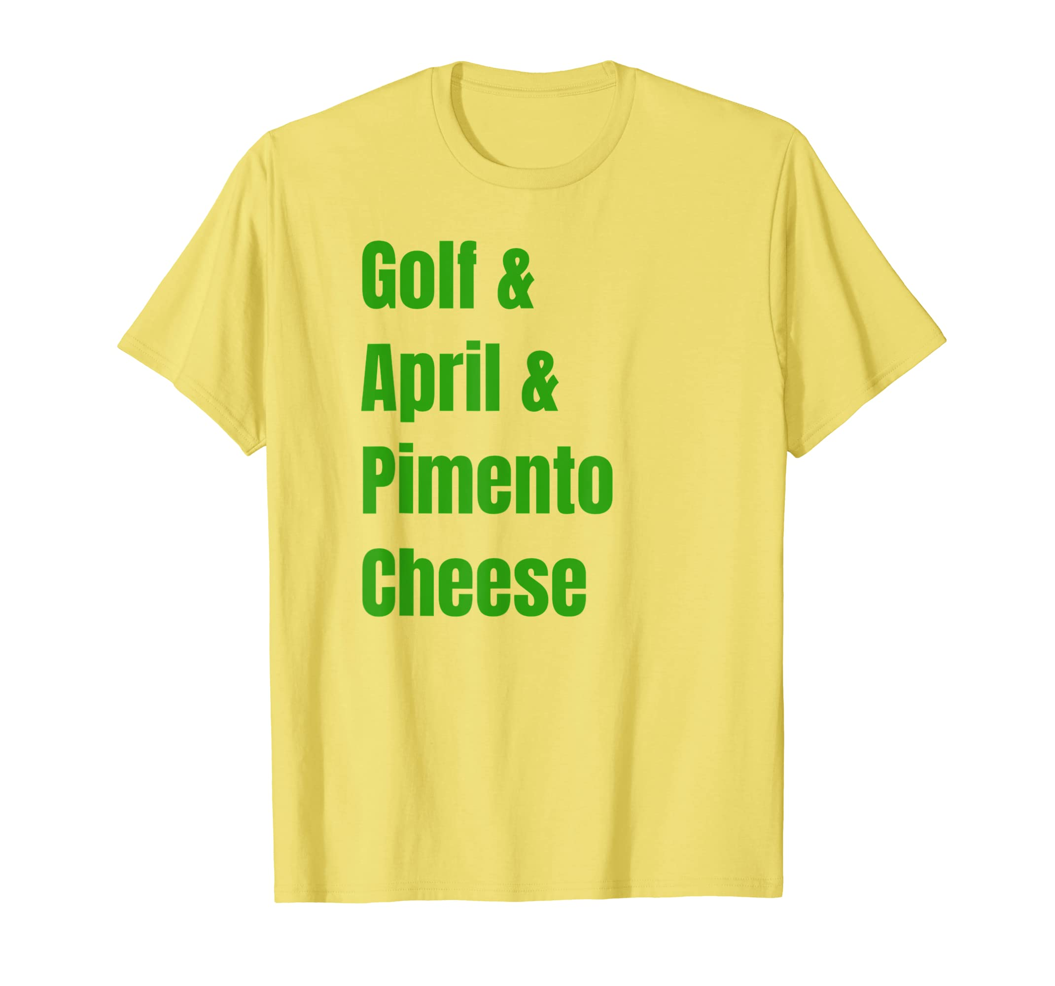 Master Golf Augusta Pimento Cheese Amen Corner Gift T Shirt-Yolotee