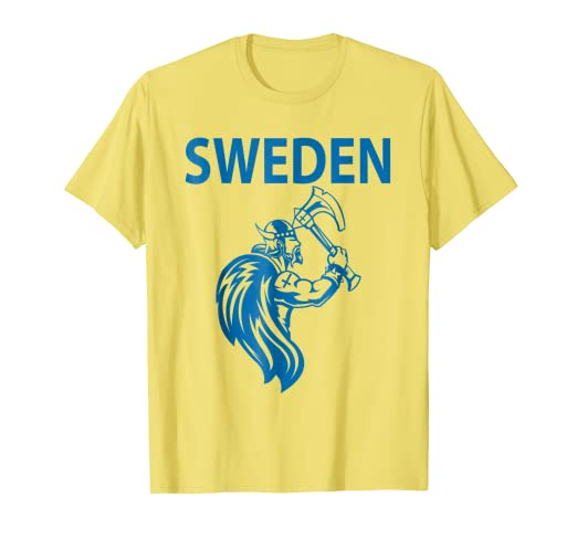 Image Unavailable. Image not available for. Color  Sweden Soccer Jersey  Shirt ... 60a24e920