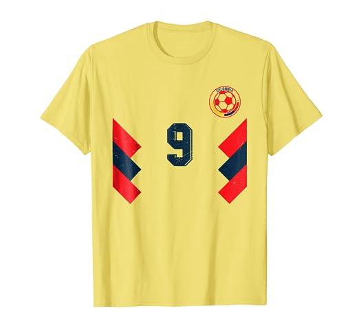 Camiseta Futbol Colombia Soccer T-Shirt number 9