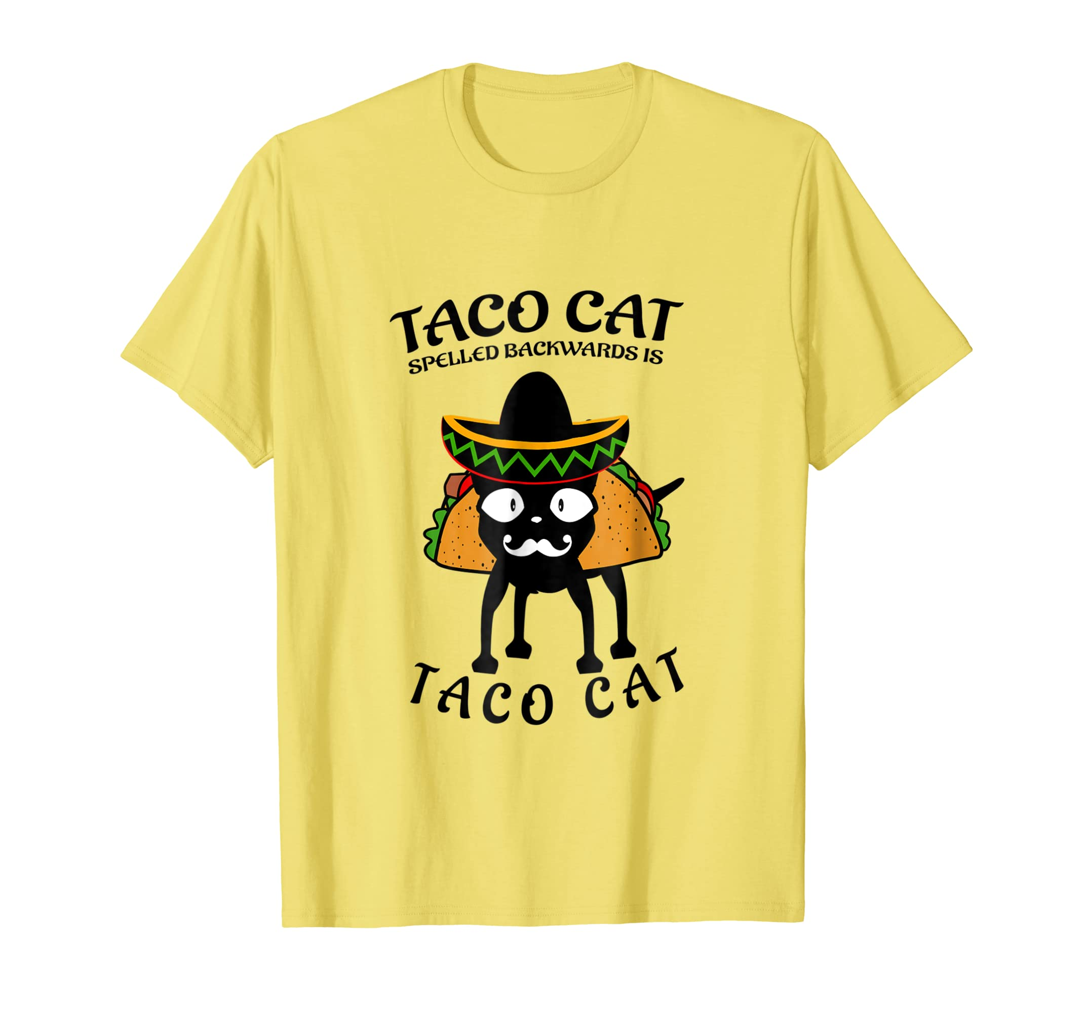 Amazon.com: tacocat spelled backwards shirt taco cat for men women kids: Clothing