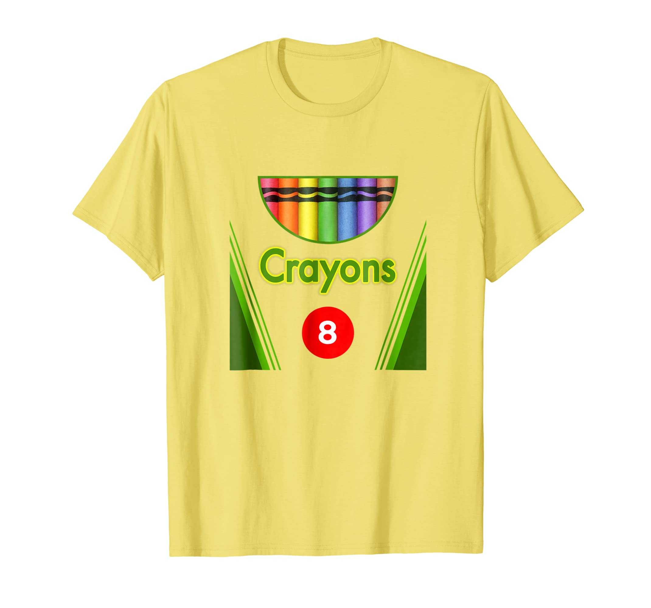 Amazon.com  Crayon Box of 8 Costume Halloween T-Shirt  Clothing c8db06639d2