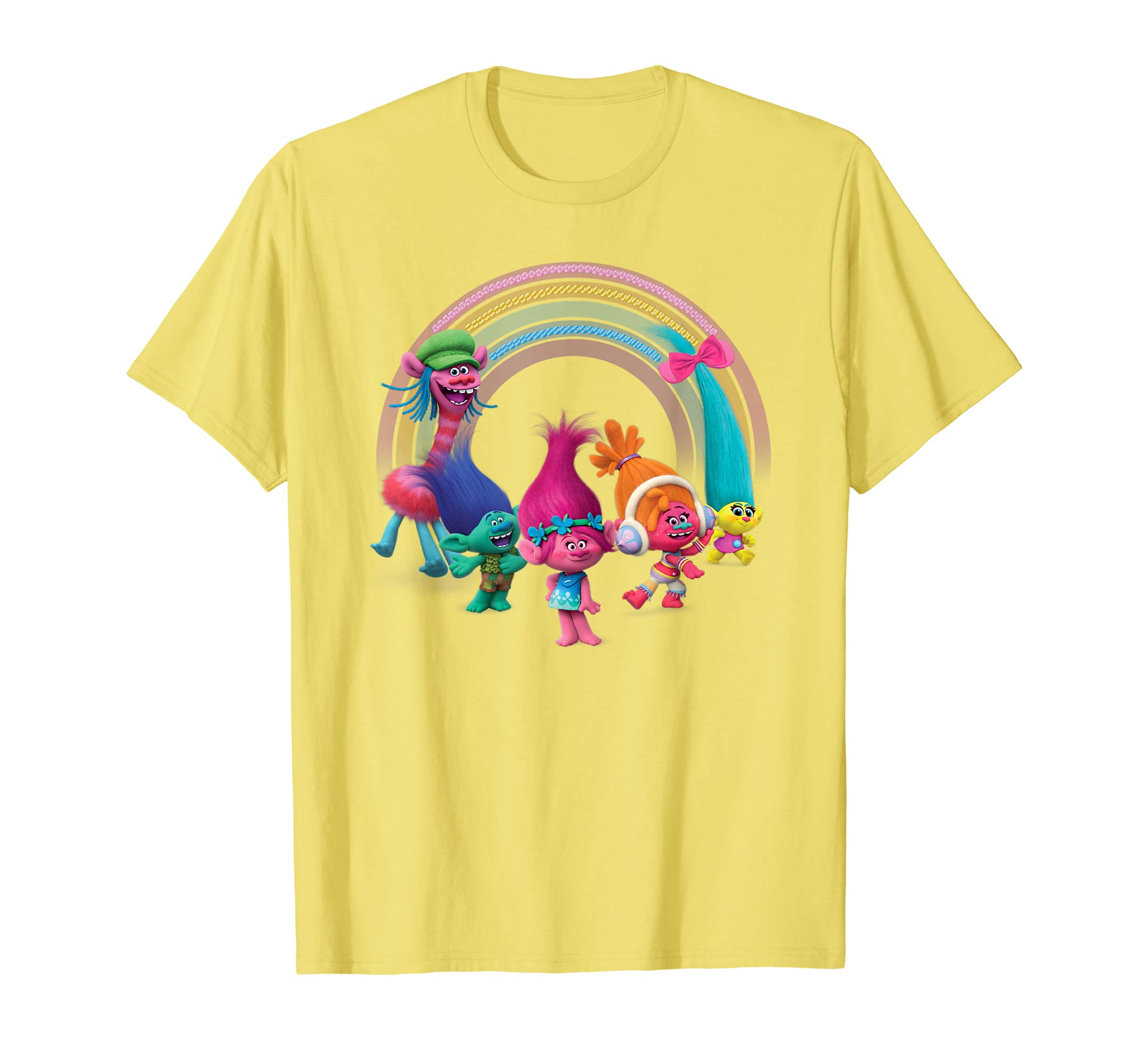 Universal Trolls Rainbow Party T-shirt-ANZ