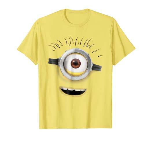 Amazoncom Despicable Me Minions Carl Open Mouth Graphic T Shirt