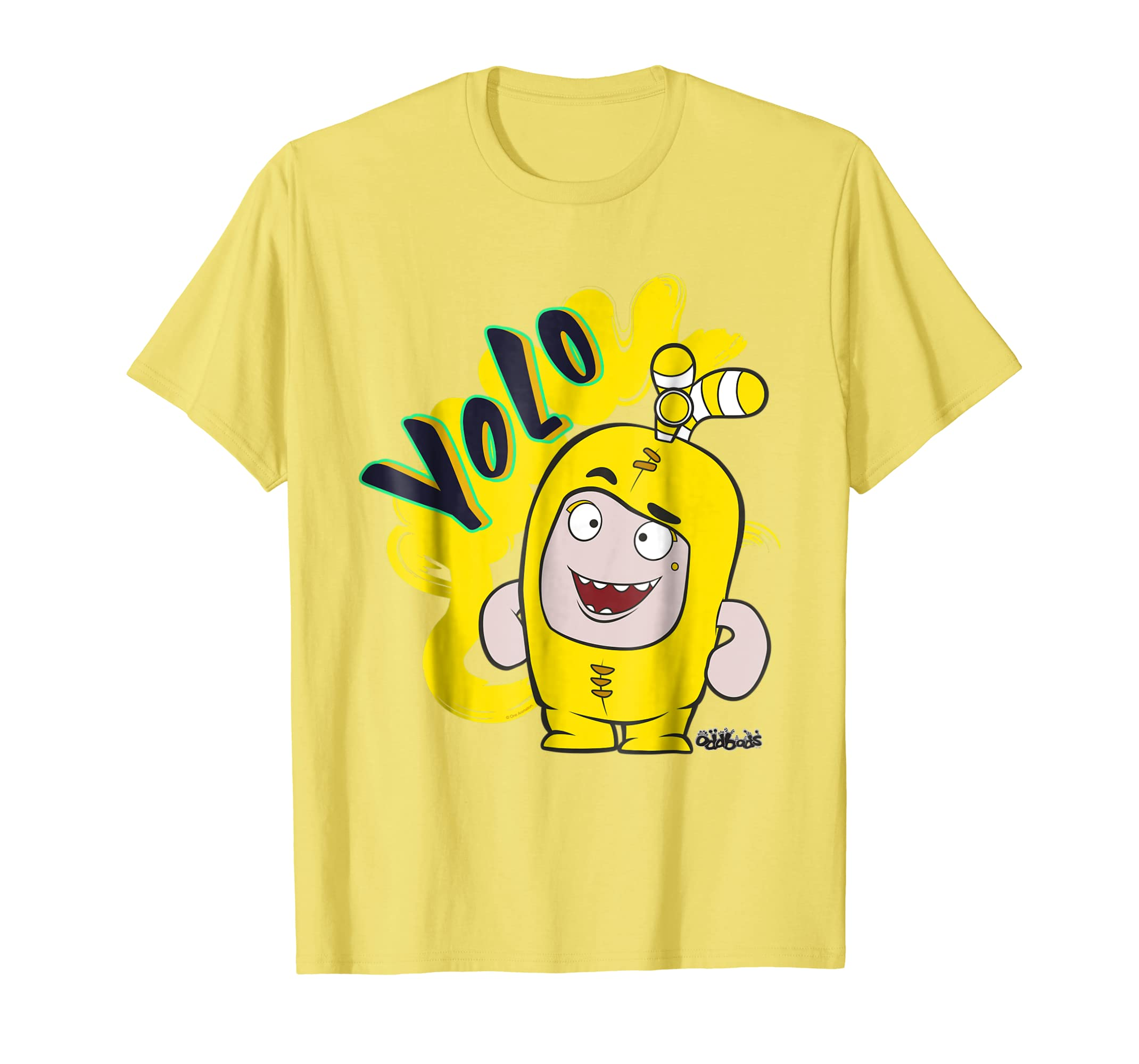 8b518dd60413 Amazon.com: Oddbods Bubbles You Live Only Once YOLO T-Shirt: Clothing