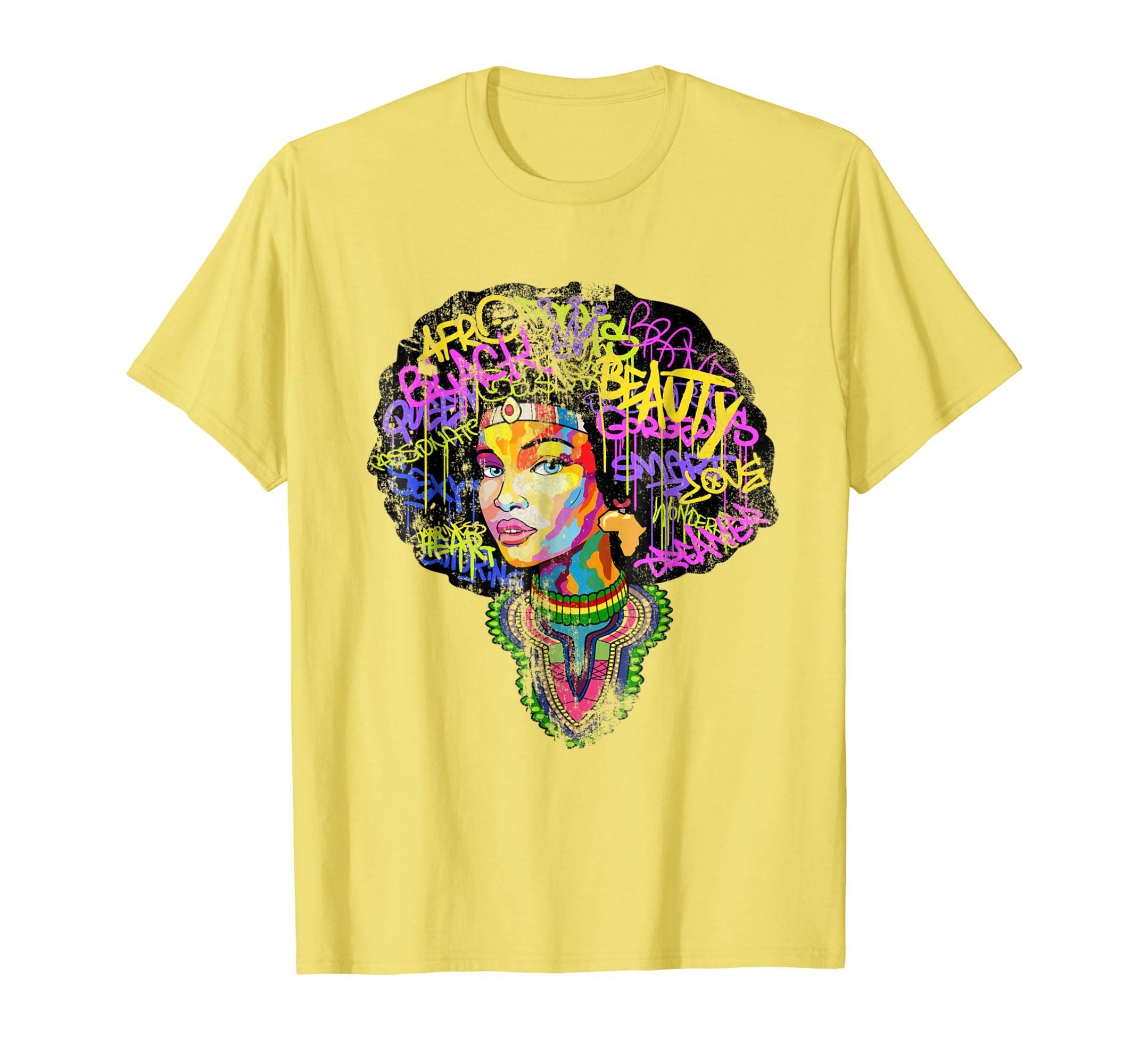 Educated Afro Melanin Queen Shirt-SFL