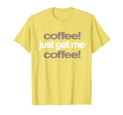 Coffee Lover Barista Drinks Gift T-Shirt