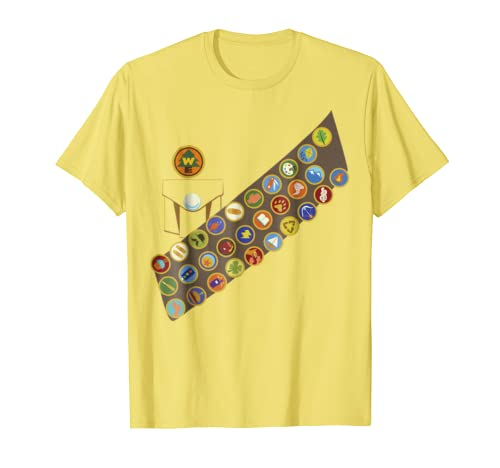 Disney Pixar Up Russel Patches Halloween Graphic T-Shirt