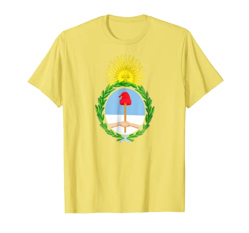 Amazon.com: Argentina T Shirt Coat of Arms Spanish Teacher Hispanic: Clothing