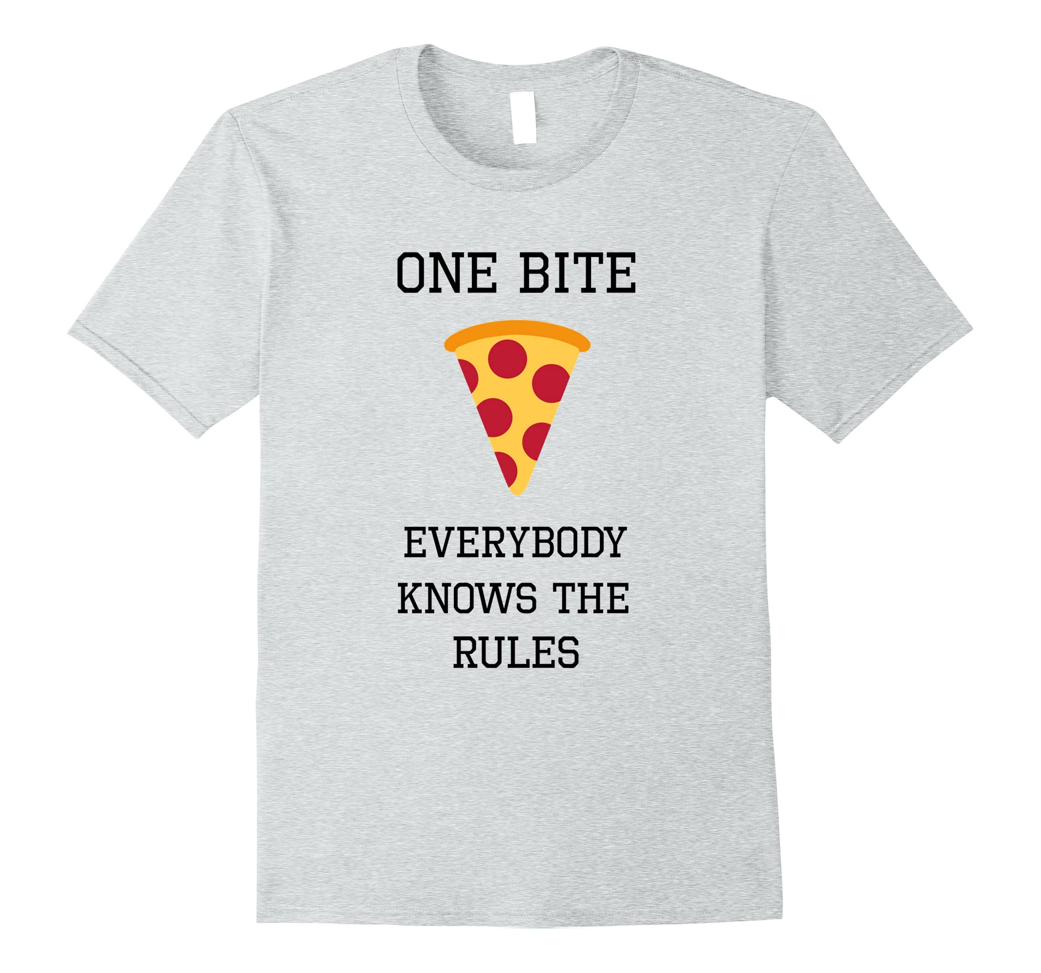 Everyone Knows Rules Pizza Eating-Tovacu