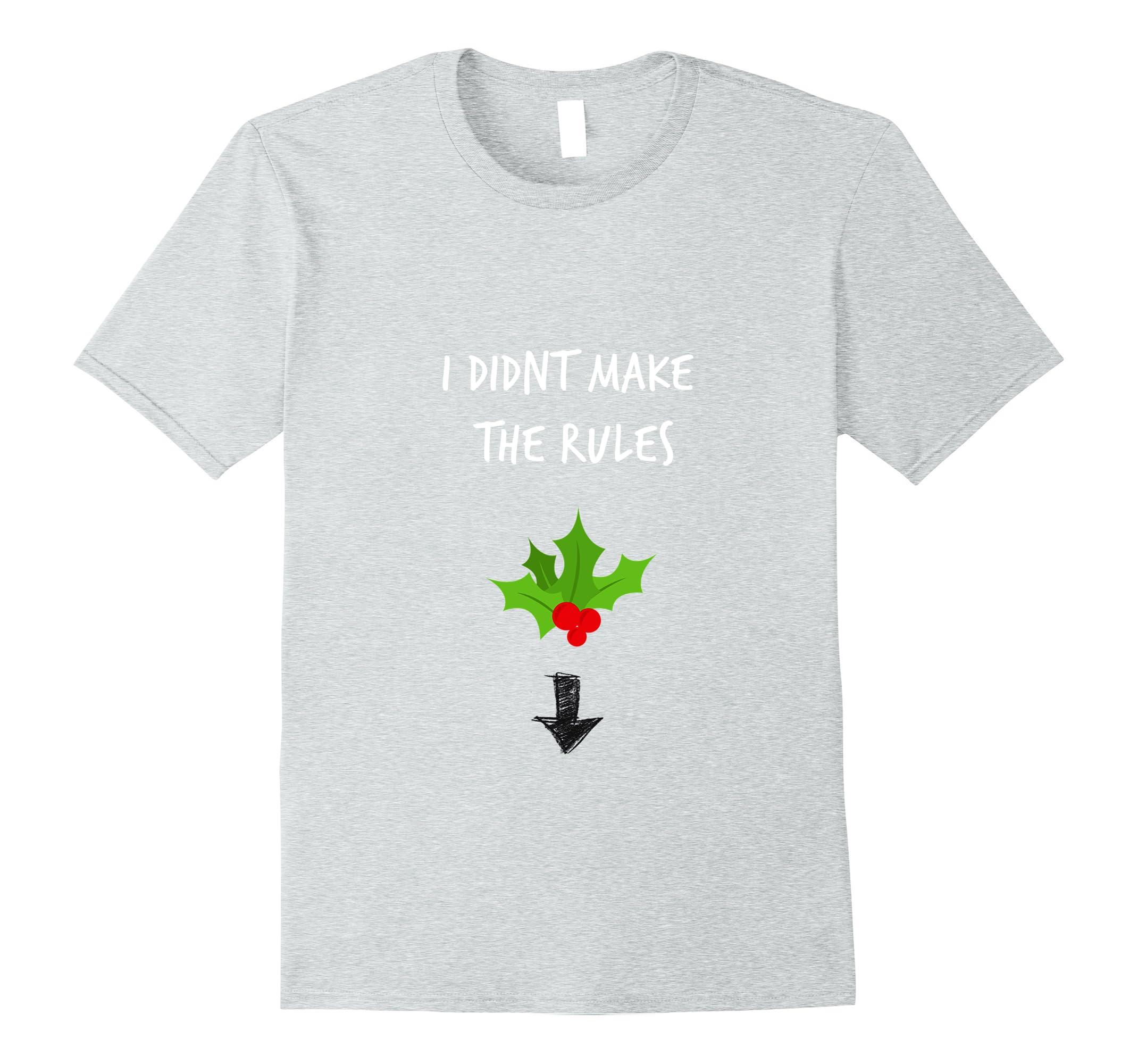 62dc792f Funny adult humor dirty joke christmas mistletoe T-shirt-RT – Rateeshirt