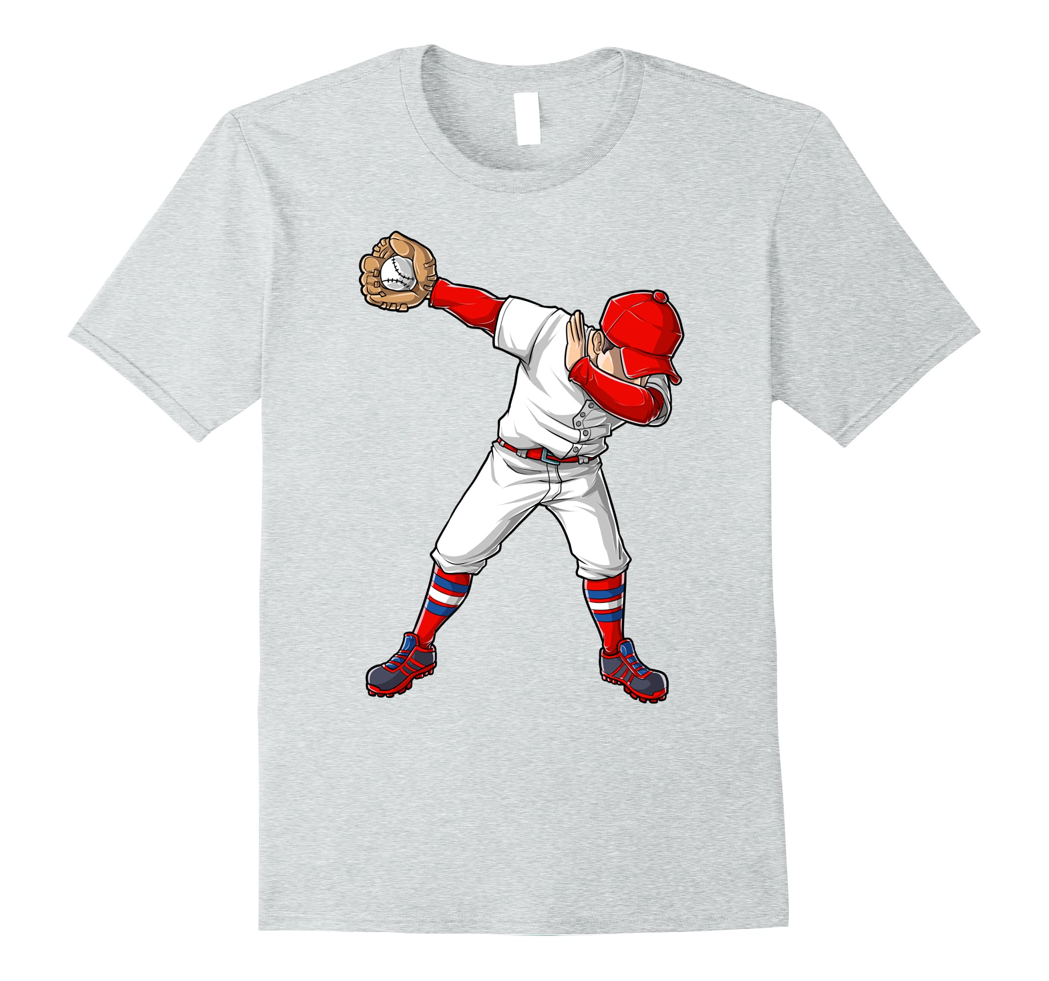 2a91263c Baseball Dabbing T Shirt Funny Dab Dance Shirts Boys Girls-ah my shirt one  gift