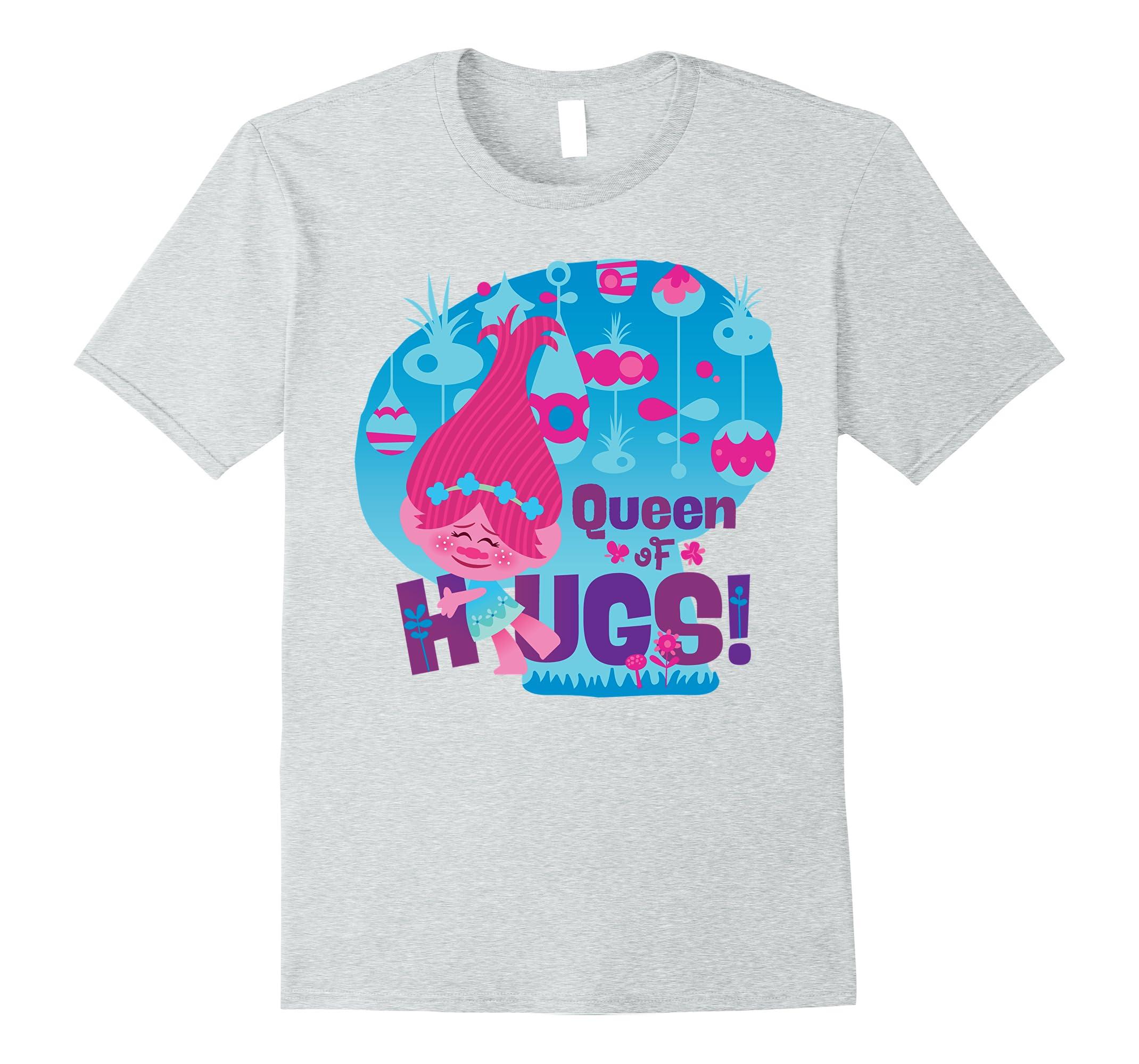 DreamWorks Trolls Queen Poppy T Shirt-Teechatpro