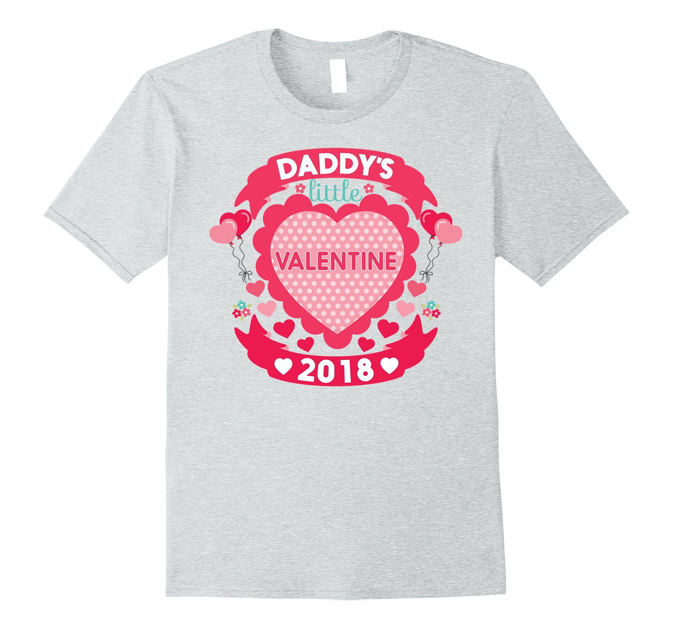 Daddy S Little Valentine Cute Valentine S Day Shirt For Kids Rt