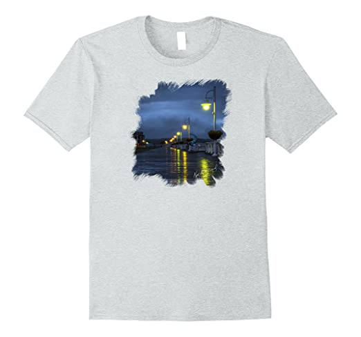 Blue Hour Boardwalk Standard T-Shirt