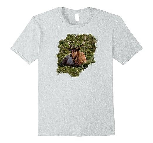 Elk Sitting Standard T-Shirt