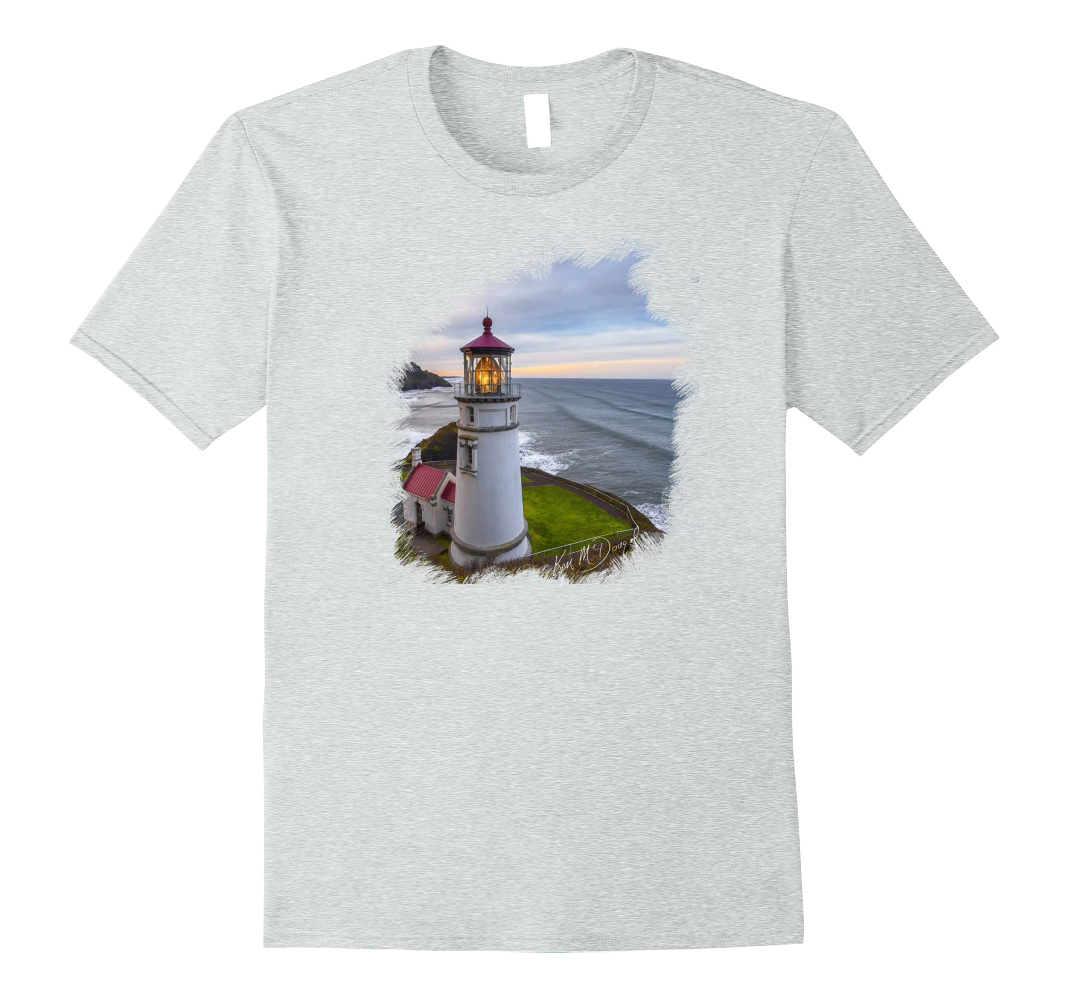 Heceta Head Lighthouse Standard T-Shirt