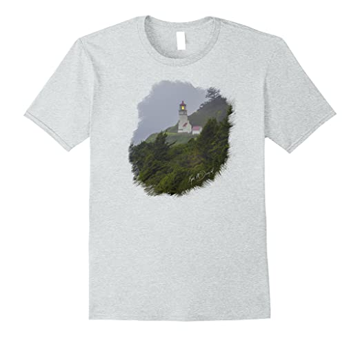 Lighthouse in Fog Standard T-Shirt