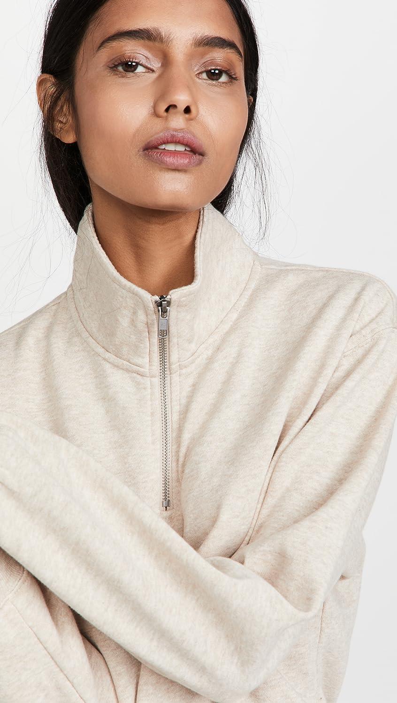 Z Supply Women's Half Zip Sweatshirt