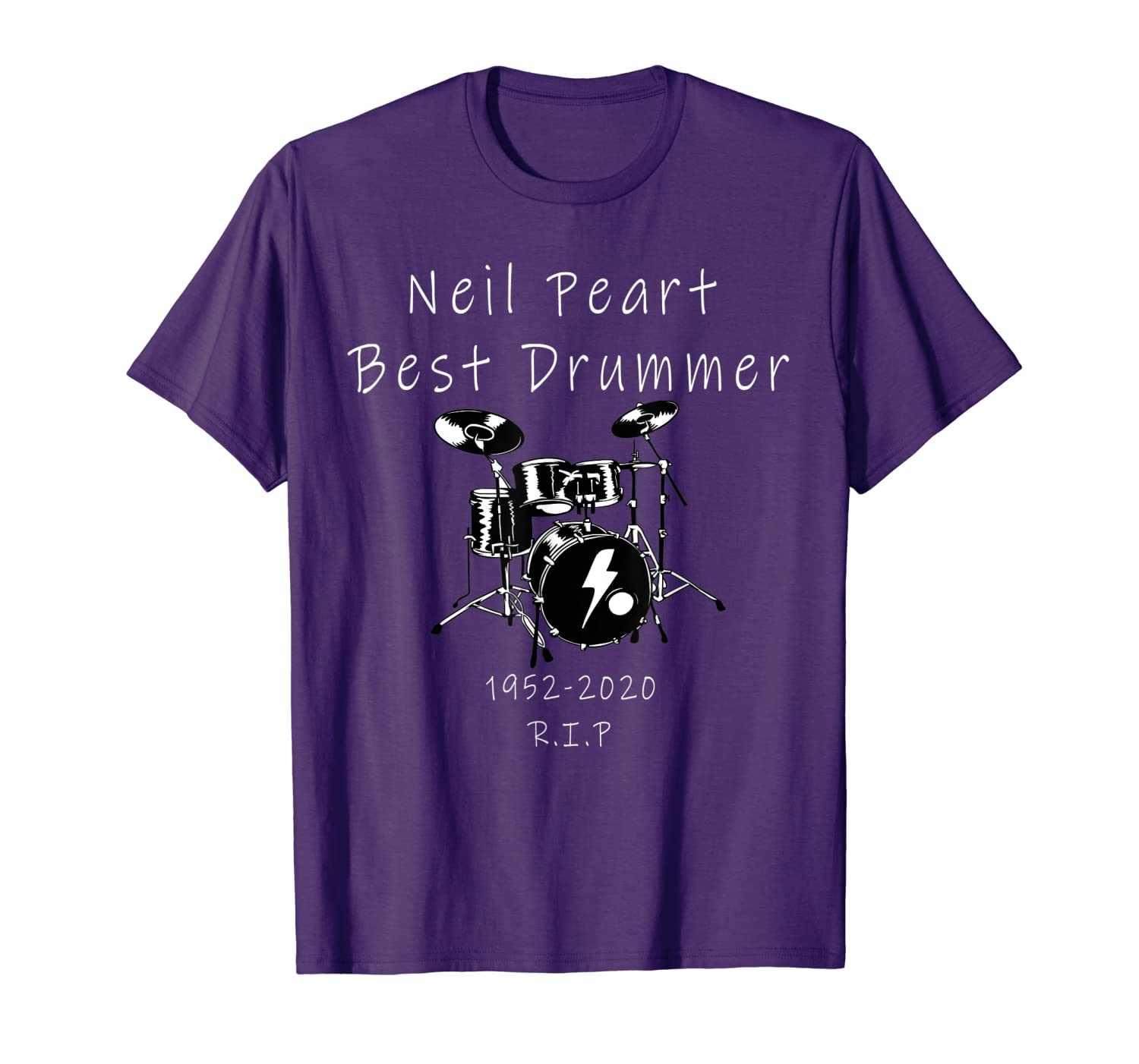 Neil Memory-Peart In Loving Drummer 2020 T-Shirt