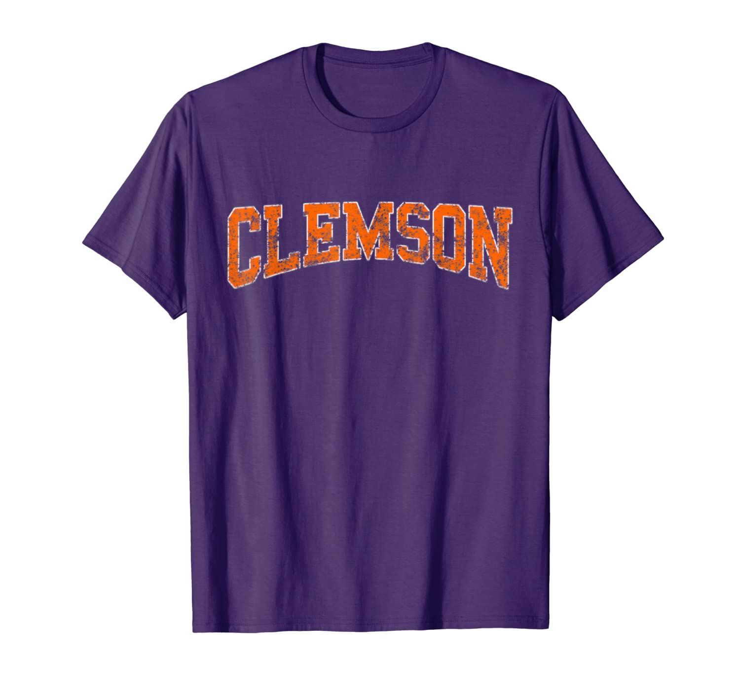 Vintage Clemson Football Retro Weathered Classic Shirt-TH