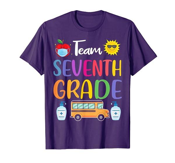Team Seventh Grade Tee Back To School Preschool Teachers T-Shirt