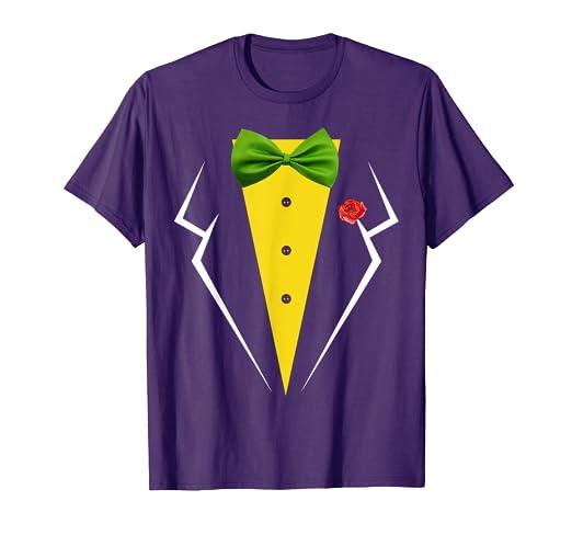 Amazon.com: Camisa de disfraz de Halloween con lazo verde ...
