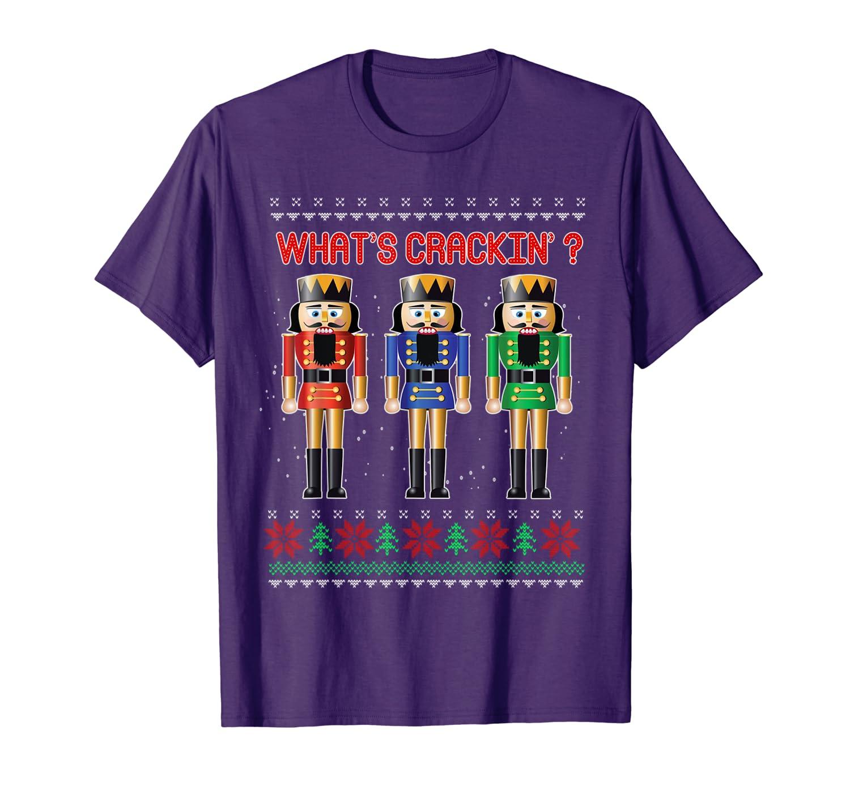 Ugly Nutcracker Squad Holiday Tee Pajama Dress Up T-Shirt-TH