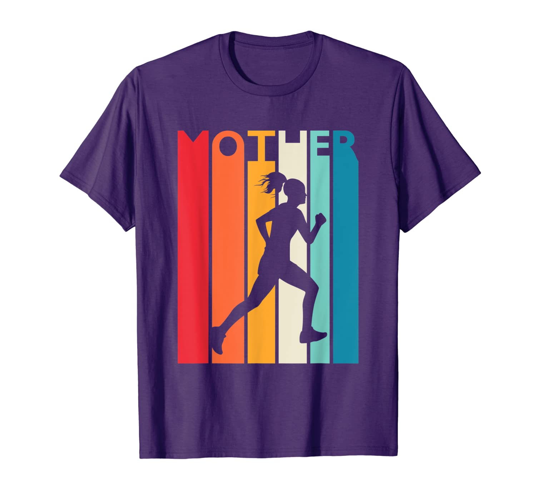 Vintage Running Mom Shirt Running Mother's Day Gift Running T-Shirt