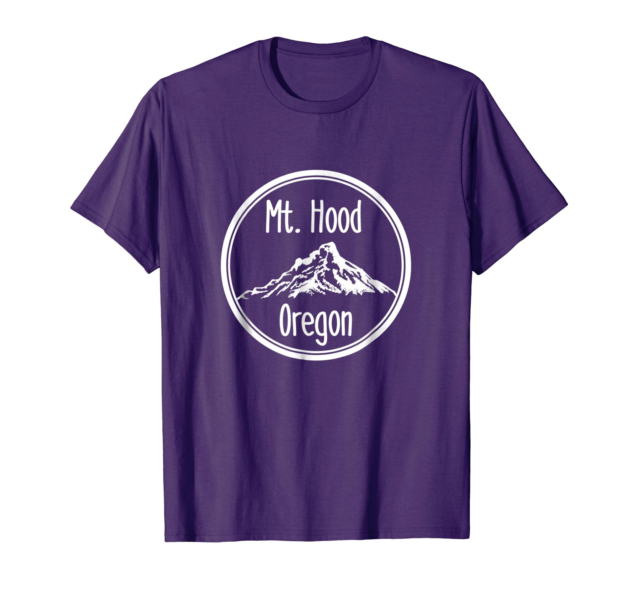 ace94a526db Amazon.com  Mt Hood Oregon Shirt Mount Hood Outdoor Adventures Tee  Clothing
